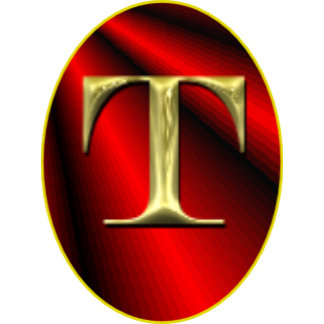 Letter T Monograms