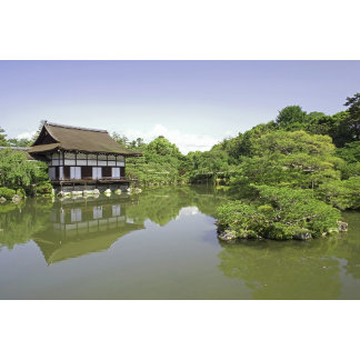 Japan, Kyoto, Japanese Garden of Heian Shrine