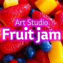 Art Studio Fruit jam