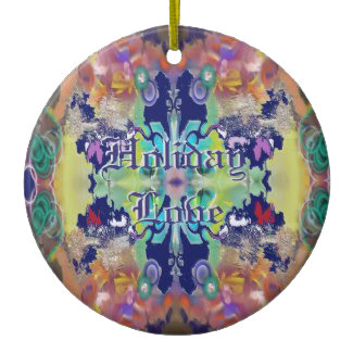 Holiday Abstract Ornaments