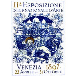 1897 Venice Art Poster