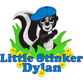 Little Stinker Dylan Personalized