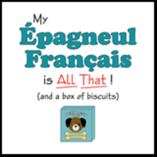 My Epagneul Francais is All That!