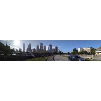 Houston Texas Skyline (Panoramic View)