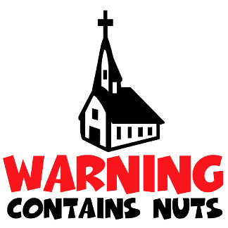 Atheist belief Tshirts-may contain nuts humor
