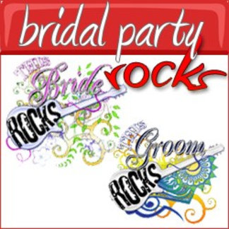 This Bridal Party Rocks!
