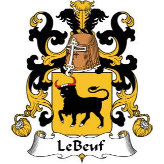 Le Beuf Family Crest