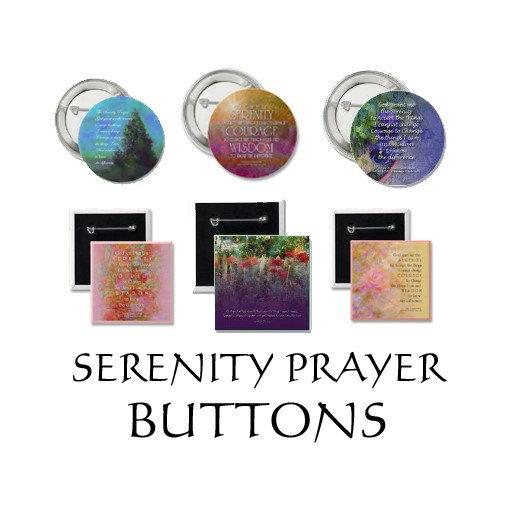 Serenity Prayer Buttons