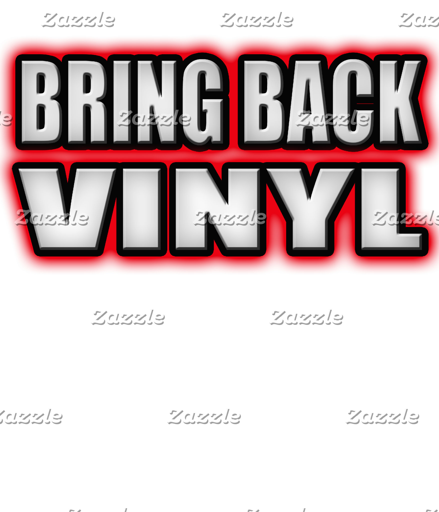BRING BACK VINYL Punk Rock Music shirts