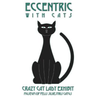 Eccentric with Cats Museum Exhibit