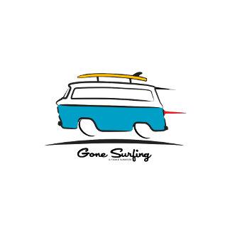 Van Gone Surfing