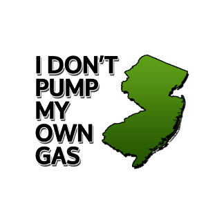 I don't pump my own gas