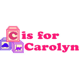 Baby Blocks Carolyn
