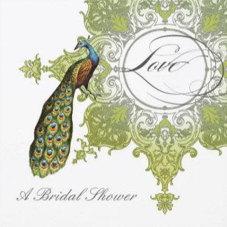 Peacock Baroque - Avocado