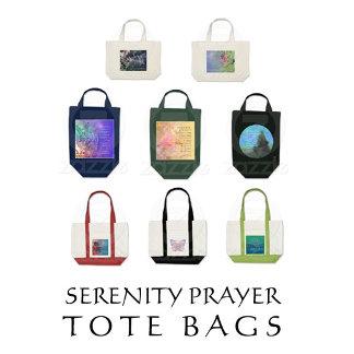 Serenity Prayer Tote Bags