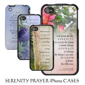 Serenity Prayer iPhone Cases