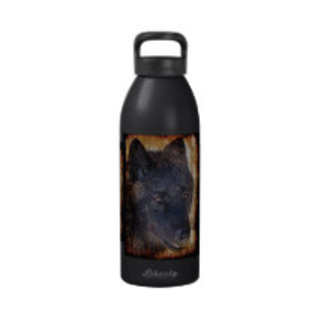 WOLF Water Bottles and Hip Flasks