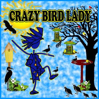 Crazy Bird Lady Design