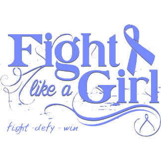 Stomach Cancer Fight Like A Girl Elegant