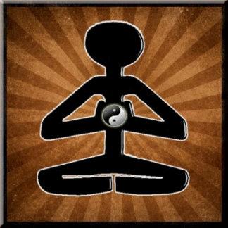 MEDITATION YOGA YIN YANG