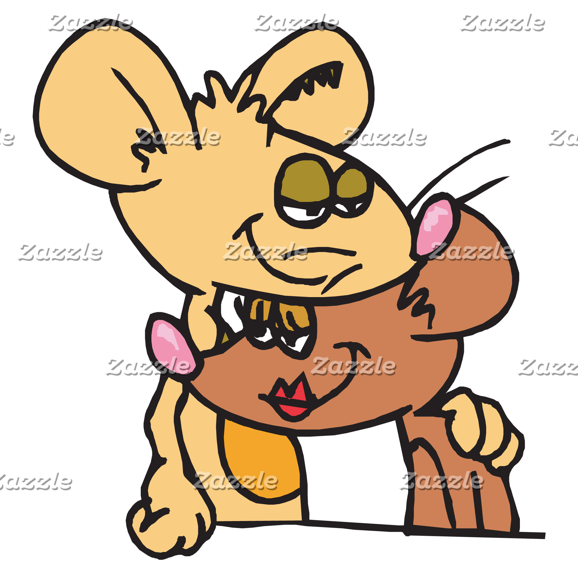 Cute Valentines Mice Hugging