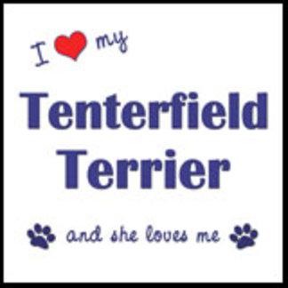 I Love My Tenterfield Terrier (Female Dog)