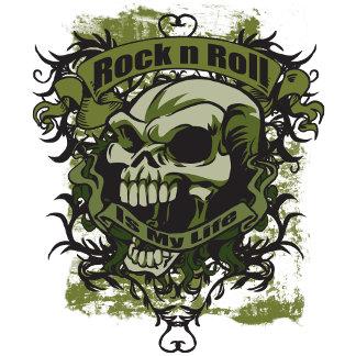 Rock is my life Skull