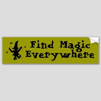 Find Magic Everywhere - Bumper Sticker