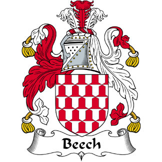 Beech Family Crest / Coat of Arms