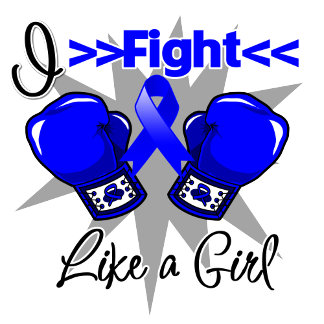 Colon Cancer I Fight Like a Girl With Gloves