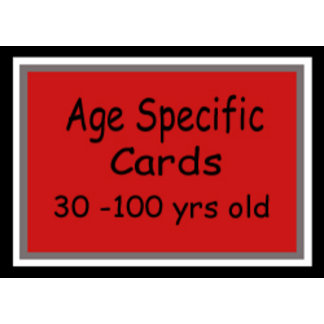 Age Specific Birthday Gifts
