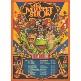 The Muppet Show - Grand Tour Poster
