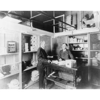 Cash Vault at the Treasury Department Photograph