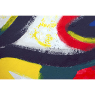 Abstract Graffiti Art from the East Side Gallery