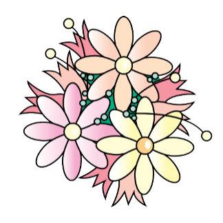 Pink Flower Burst