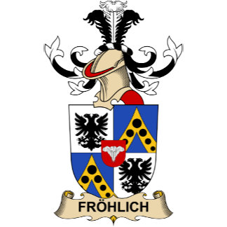 Fröhlich Coat of Arms