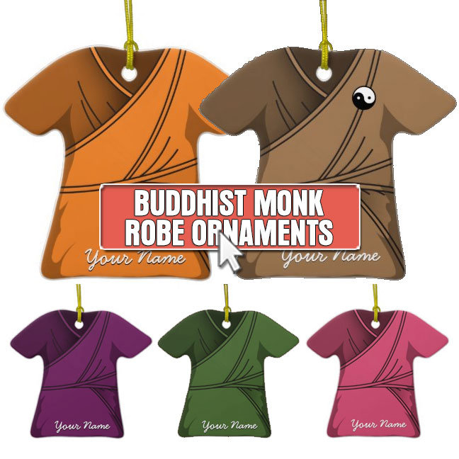 Buddhist Monk Robe Ornaments