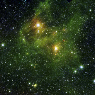 Two extremely bright stars