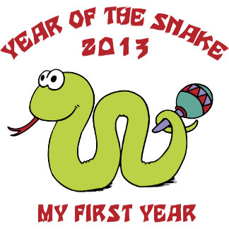 Born In The Year of The Snake 2013 T-Shirts Gift