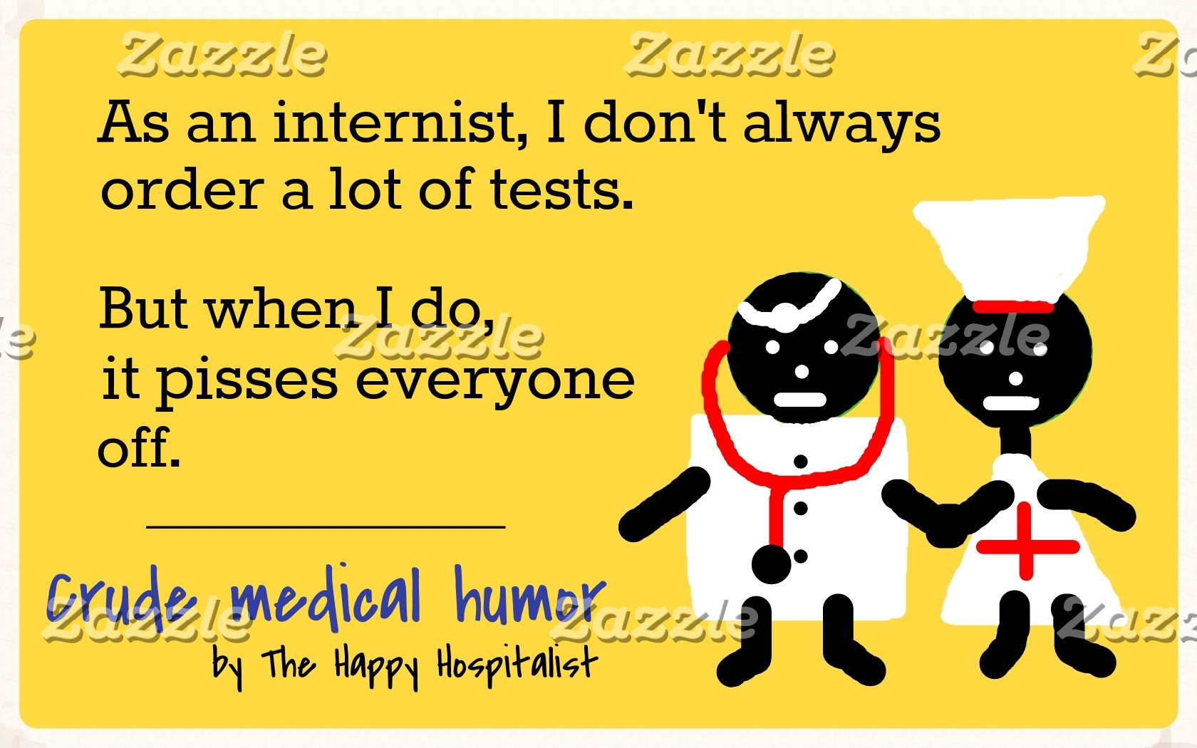 As an internist, I don't always order a lot of...