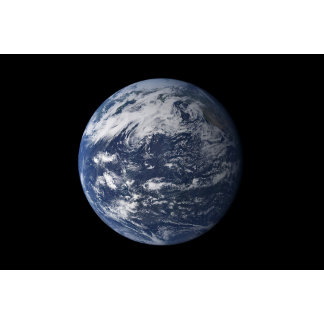 Full Earth centered over the Pacific Ocean