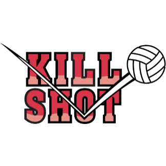 Kill Shot Volleyball T-Shirt Gifts Cards