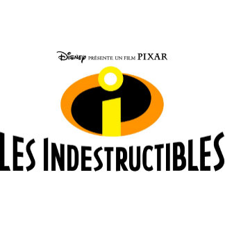 """The Incredibles """"Les Indestructibles"""" French logo"""