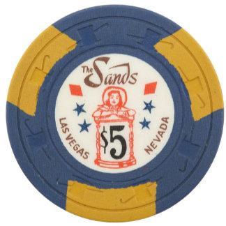 Vintage Poker Chips - Las Vegas Casino Gambling