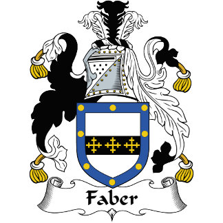 Faber Family Crest / Coat of Arms