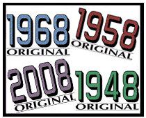 Birth Year Originals