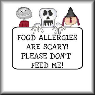 Peanut Allergy Halloween