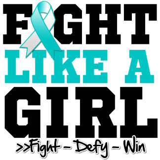 Cervical Cancer Sporty Fight Like a Girl