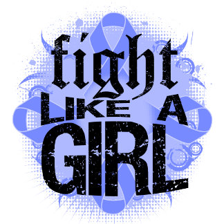 Stomach Cancer Fight Like A Girl Rock Ed.