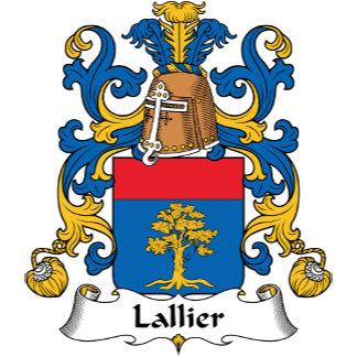 Lallier Family Crest